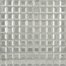 1 u0027 u0027 x 1 u0027 u0027 silver glass square tile glossy mrm1