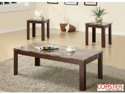 brown coffee table set discount coffe tables for sale express furniture warehouse bronx