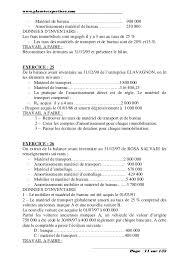 matériel de bureau comptabilité comptabilite generale exercices et corriges 2