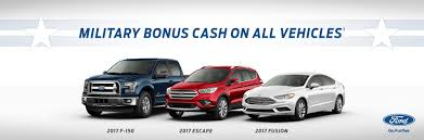 ford vehicles military appreciation current specials and auto discounts ford