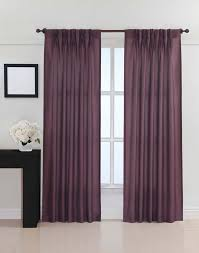 Sheer Purple Curtains by Dkny Broome Pinch Pleat Curtain Panel Curtainworks Com New