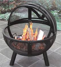Firepit Images Of Outdoor Pit With Protective Cover Pits