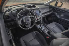 subaru crosstrek 2017 interior review 2018 subaru crosstrek the crossover for active