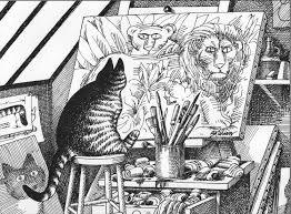 b kliban cat original vintage art print perfect for cat