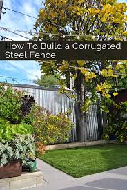 How To Make Backyard More Private Build A Backyard Privacy Fence Backyard Privacy Steel Panels