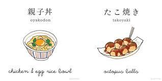 vocabulaire de cuisine le vocabulaire de la cuisine japonaise avec l instagram nihongo