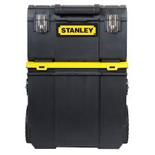 stanley 11 in 3 in 1 detachable tool box mobile work center