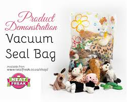 neat freak product demonstration vacuum bags youtube