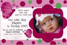 free sle birthday wishes baby girl 1st birthday invitation templates yourweek 6c38edeca25e