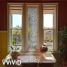 Window Decor Film Rough Stone Pattern Frosted Window Decor Privacy Home Diy Vinyl