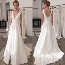 plain wedding dresses discount simple plain wedding dresses 2018 simple plain wedding