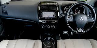 mitsubishi crossover interior mitsubishi asx review carwow