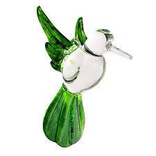 glass hummingbird ornament ebay
