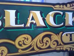 painted lettering signs traditionally painted