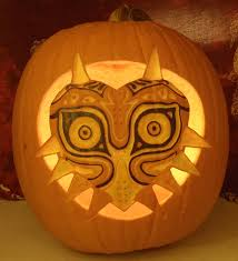 halloween pumpkin light majora u0027s mask pumpkin light version by johwee on deviantart