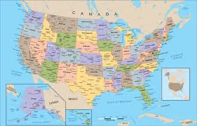 The United States Map Labeled by States And Capitals Of The United States Labeled Map America Map