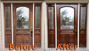 Refinish Exterior Door Exterior Painting Services Richardson Tx