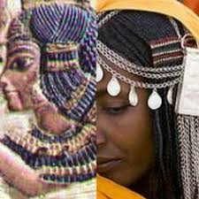 information on egyptain hairstlyes for and egyptian crowns were designed after african hairstyles ancient