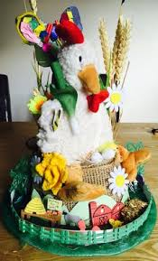 Easter Bonnet Decorating Contest by Boys Ready Made Decorated Easter Cowboy Hat Spotty Feather