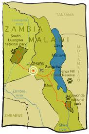 Malawi Map Malawi And Zambia Tour Big Five Expedition 122 Africa Wild Truck