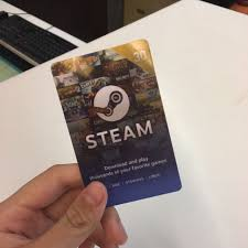 steam card steam card gaming gaming accessories on carousell