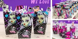 monster high party favors stickers tattoos bracelets u0026 more