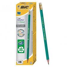 bureau avec tr eau crayon a papier bic ecolutions evolution 655 avec gomme hb jpg