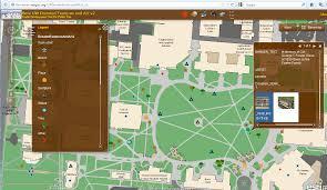 Uga Parking Map Campus Enterprise Gis