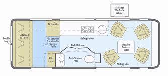 winnebago rialta rv floor plans winnebago floor plans awesome 2016 winnebago brave series m 27b