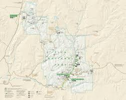 bryce map pdf zion maps npmaps com just free maps period