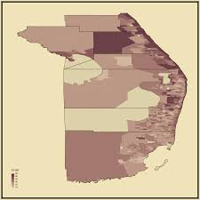 Port St Lucie Florida Map by Median Age Statistical Atlas Of The United States