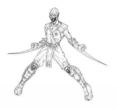 free mortal kombat 6 coloring pages inside mortal kombat coloring