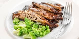 cuisiner le choux romanesco côtes de porc marinées et chou romanesco facile et pas cher