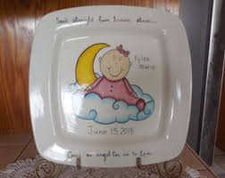 pewter birth plates personalized birth plates etsy
