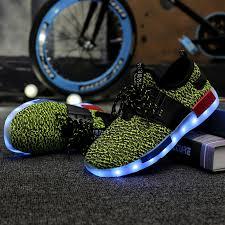light up shoes for sale kids flash led light up shoes volt black leather straps sale