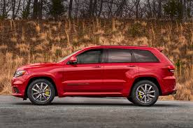luxury jeep grand cherokee the 2018 jeep grand cherokee trackhawk costs almost 90k