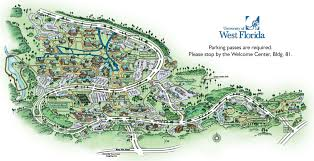 Map Of Western Florida by University Of West Florida College Bound Pinterest West