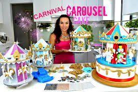carousel cake topper stunning carousel cake or cake topper they really turn
