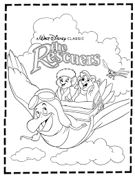 the rescuers coloring pages the rescuers coloring pages disney