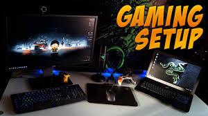 my 2015 pc gaming setup youtube