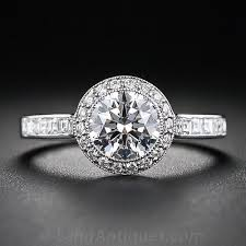 Tiffany And Co Wedding Rings by Tiffany U0026 Co 1 00 Carat Diamond Center Engagement Ring