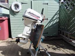 johnson 9 9 hp 2 stroke short shaft outboard motor engine not
