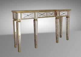 Mirrored Console Table Transitional Mirrored Console Table