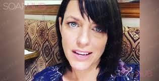 arianne zucker hairstyle false alarm arianne zucker confirms no days return