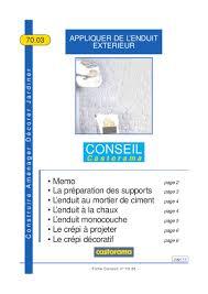 Enduit Ciment Parpaing by Appliquer De L U0027enduit Exterieur