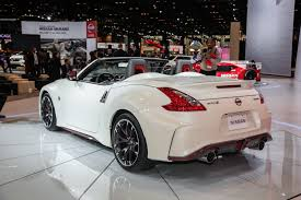 nissan 370z drift car nissan 370z nismo roadster concept drops its top in chicago
