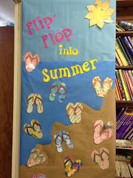 Nursery School Decorating Ideas by Summer Bulletin Board Door Bulletin Board Ideas Pinterest
