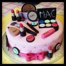 makeup cake toppers birthday cake for makeup artist