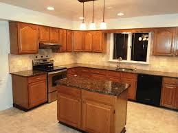 White Kitchen Cabinets With Black Granite Kitchen Ideas Grey And White Black Granite Countertops Light Gray