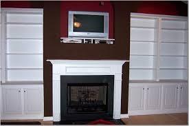 Built In Shelves Living Room Room